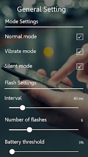 Alert Flash light On Call & sms - náhled