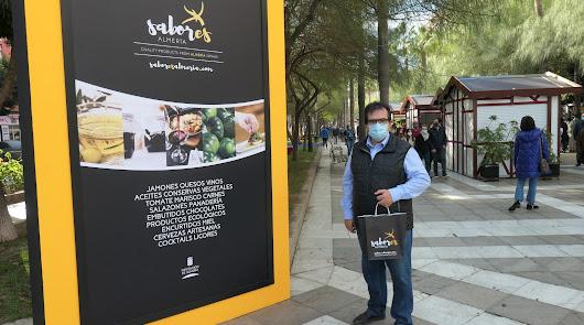 'Sabores Almería' se despide de La Rambla llenando de calidad la Navidad