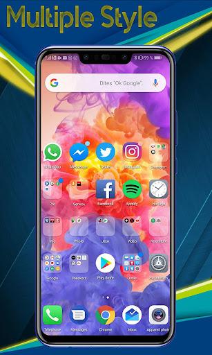 Theme for Huawei Nova 3 - Nova 3i launcher 5.1 screenshots 3