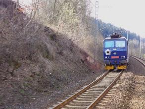 """Photo: 163 043-3 (CD), P """"Nysa"""" Usti nad Orlici - Kłodzko Główne {szlak Jamne nad Orlici - Techonin; 2015-04-14}"""