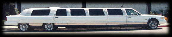 1991 Lincoln Town Car HotTub Limo Hire CA