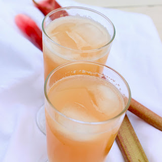Refreshing Rhubarb Punch