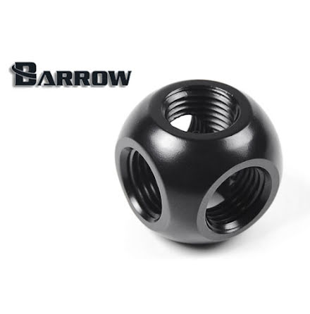 "Barrow multiblokk, 1/4""BSPx5, Black"