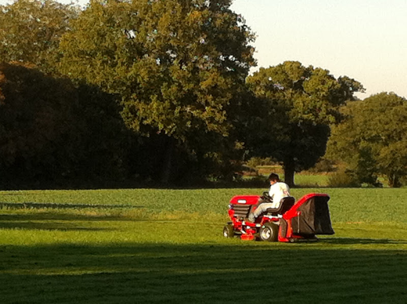Photo: Large grounds mowing Dorking