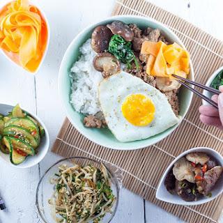 Bibimbap – Korean Rice and Vegetables Recipe