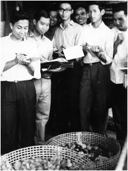 GS Nguyễn Ngọc Trác (thời sinh viên 1965)