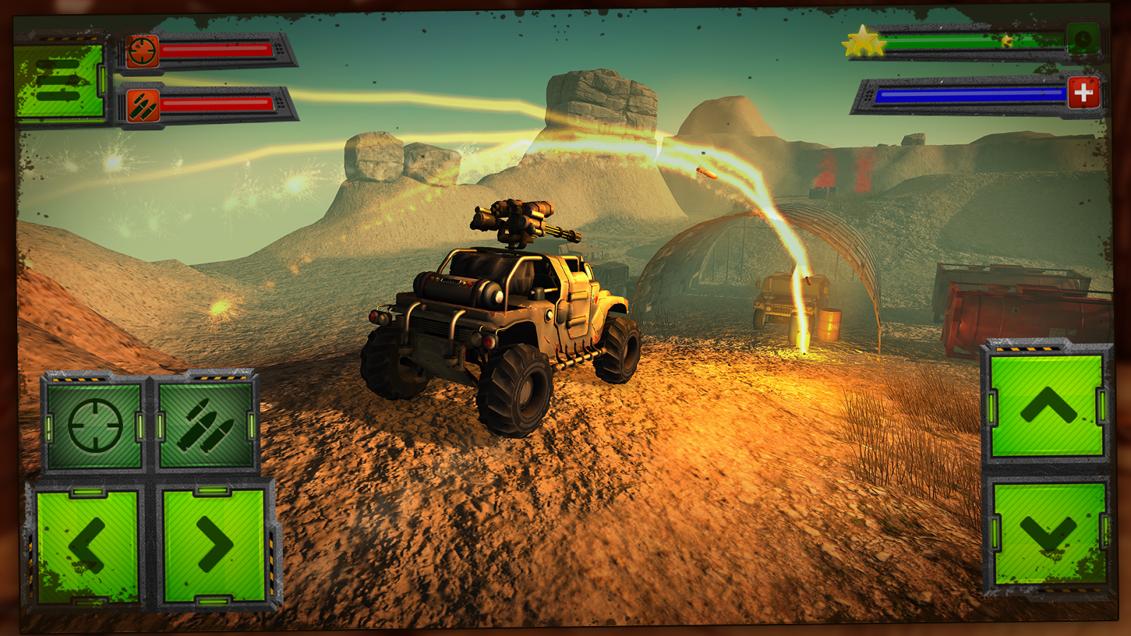 Screenshots of Gun Rider - Racing Shooter for iPhone