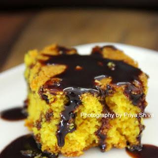 Sfouf / Eggless Lebanese Turmeric Cake