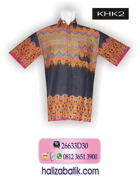 Model Baju Batik Terbaru, Gambar Baju Batik, Koleksi Baju Batik, HKH2