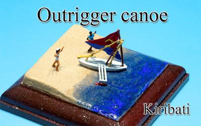 Canoe -Kiribati-