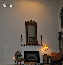 Photo: (Before) Fireplace Toll Brothers House Northampton, PA