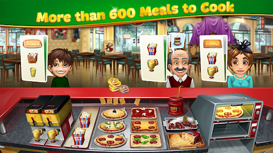 Cooking Fever Mod Apk 10.0.0 (Unlimited Coins + Gems) 3