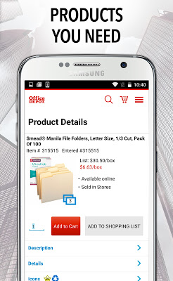 Office Depot® For Business - screenshot