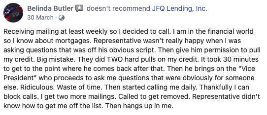 JFQ lending reviews 2