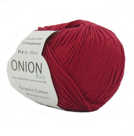 Onion - Organic Cotton Vinröd 109