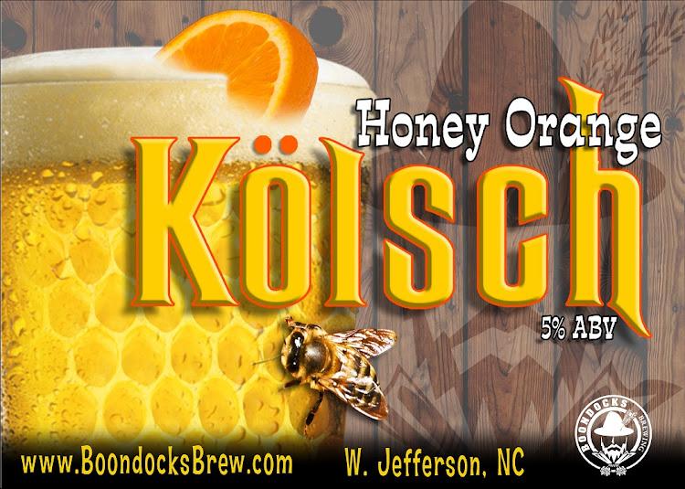 Logo of Boondocks Honey Orange Kolsch