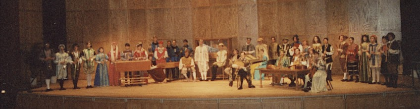 Photo: April 7, 1991: Colossal Baroque concert with the combined CMA and EME ensembles