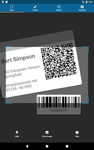 QRbot: QR code reader and barcode reader  screenshots 17