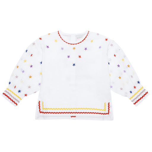 Primary image of Stella McCartney Star Print Blouse