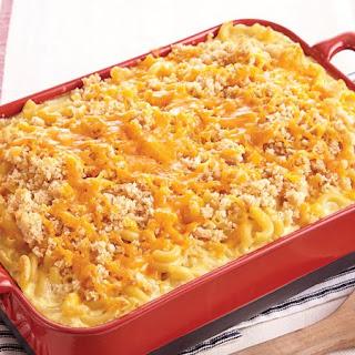 Custard-Style Mac and Cheese.
