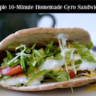 Homemade Gyro Sandwiches with Steak-umm®.