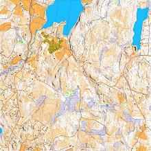 Photo: Kurjoo, Vihti. Karttapullautin map from the open data of the National Land Survey of Finland (www.maanmittauslaitos.fi)