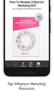 Influencer Marketing Hub Screenshot