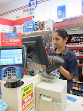 Photo: The store clerk quickly swapped my Duane Reade card for a new Balance Rewards card at the register, as she rang up my purchases.