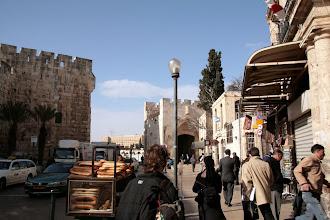 Photo: Porte de Jaffa à Jérusalem