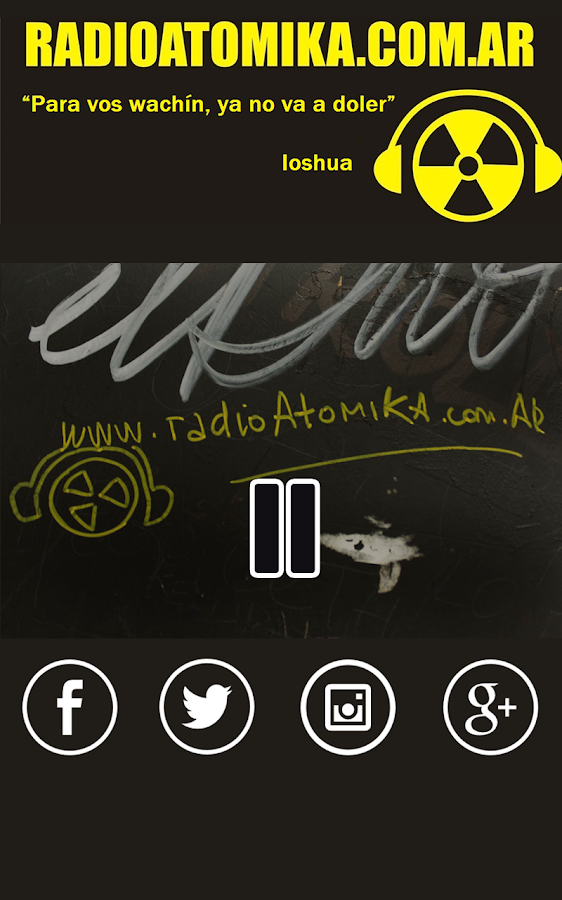 Radio Atomika- screenshot
