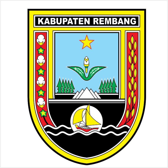 Kab Rembang Logo Vector