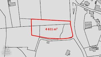 Terrain 4611 m2