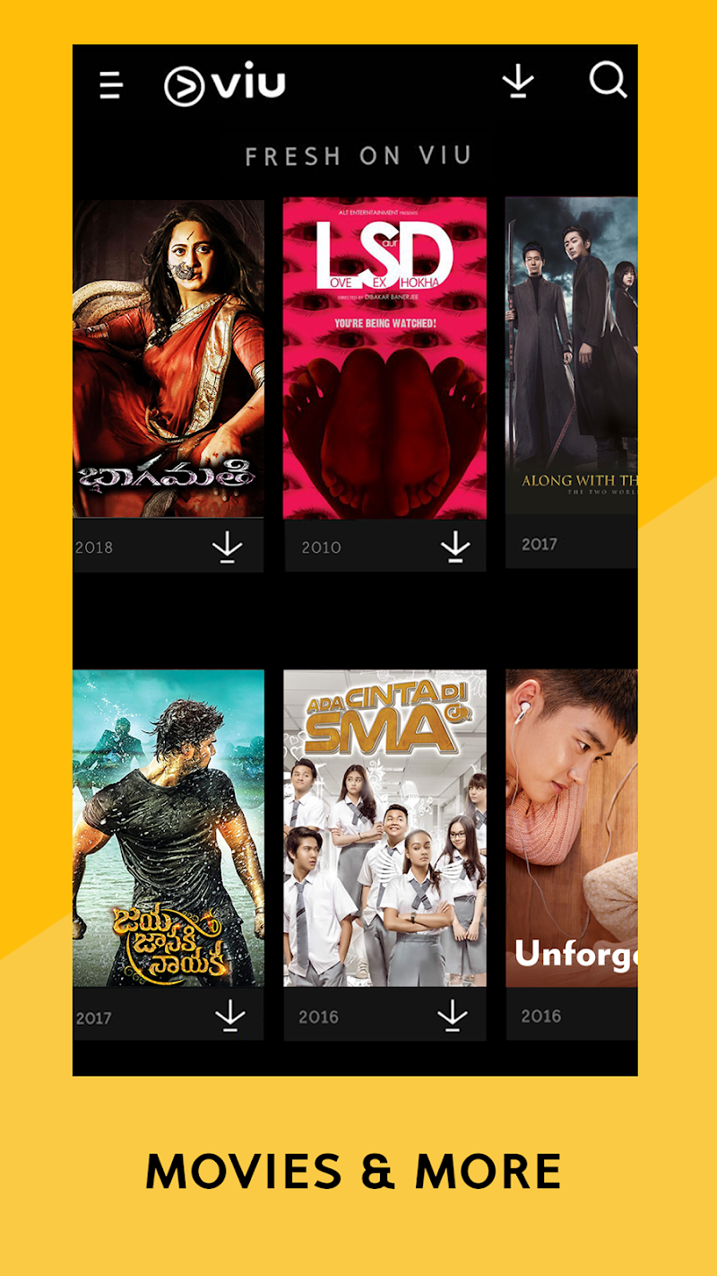 Viu - Korean Dramas, TV Shows, Movies & more Screenshot 3