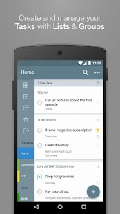 2Do - Reminders & Task Planner Screenshot