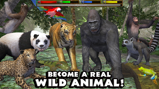 Ultimate Jungle Simulator v1.1 Full Apk + Mod - APKO