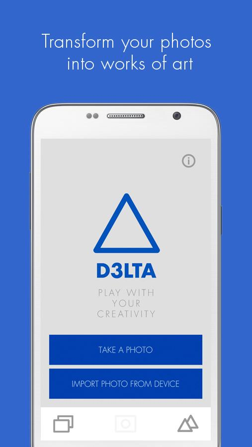 D3LTA - Photo Art App- screenshot