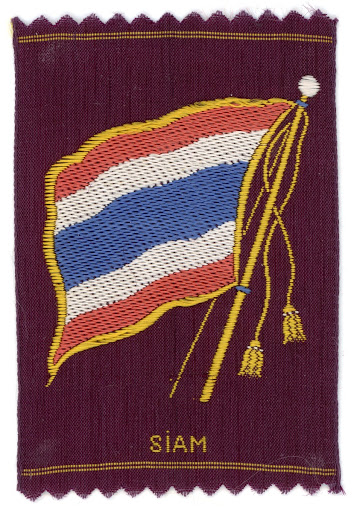 The Trirong Flag on Silk