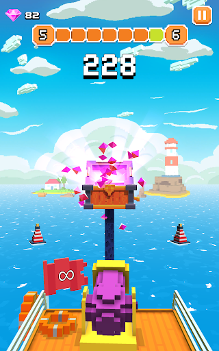Blocky Tower - Knock Box Balls Ultimate Knock Out android2mod screenshots 16