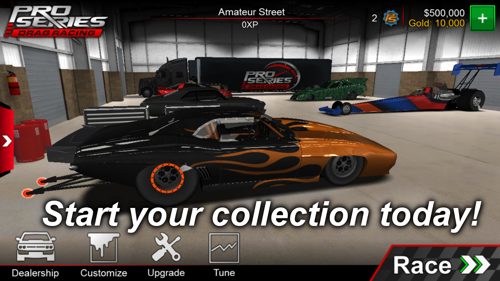 Pro Series Drag Racing- screenshot