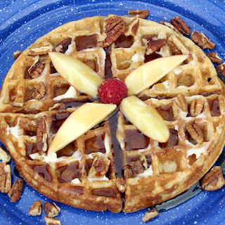 Whole Grain Apple Waffles Recipe