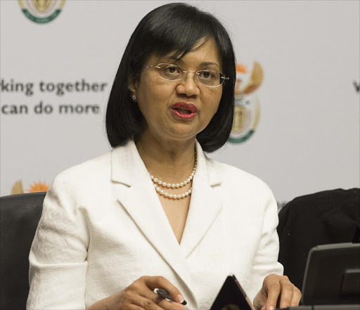 Minister of Energy Tina Joemat-Pettersson