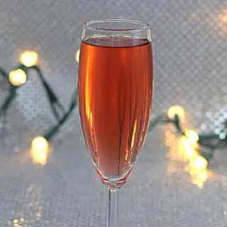 A Champagne Cocktail.