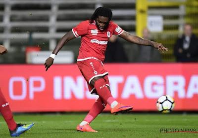 Dieumerci Mbokani n'exclut pas un départ de l'Antwerp