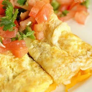 Egg Crepes.