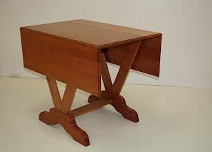 Photo: Dropped side table-Christos Kondos. Silky Oak