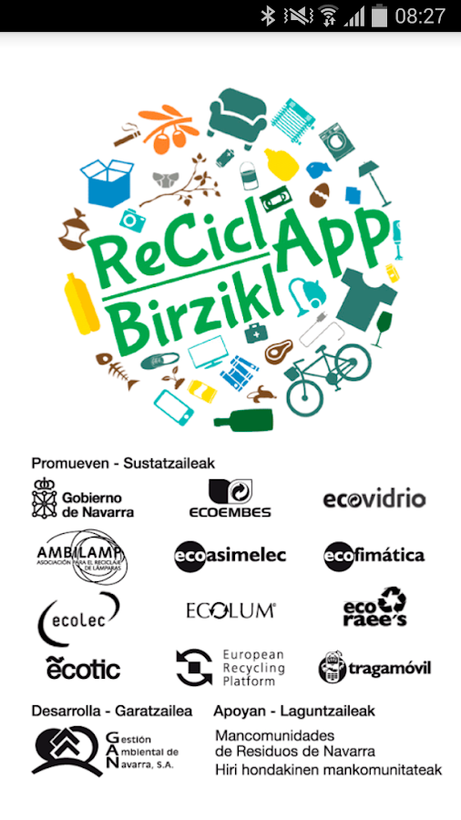 ReciclApp  - BirziklApp- screenshot