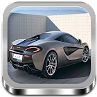 3D Game Parking voiture icon