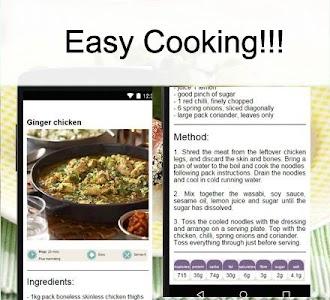 Chicken recipes screenshot 3