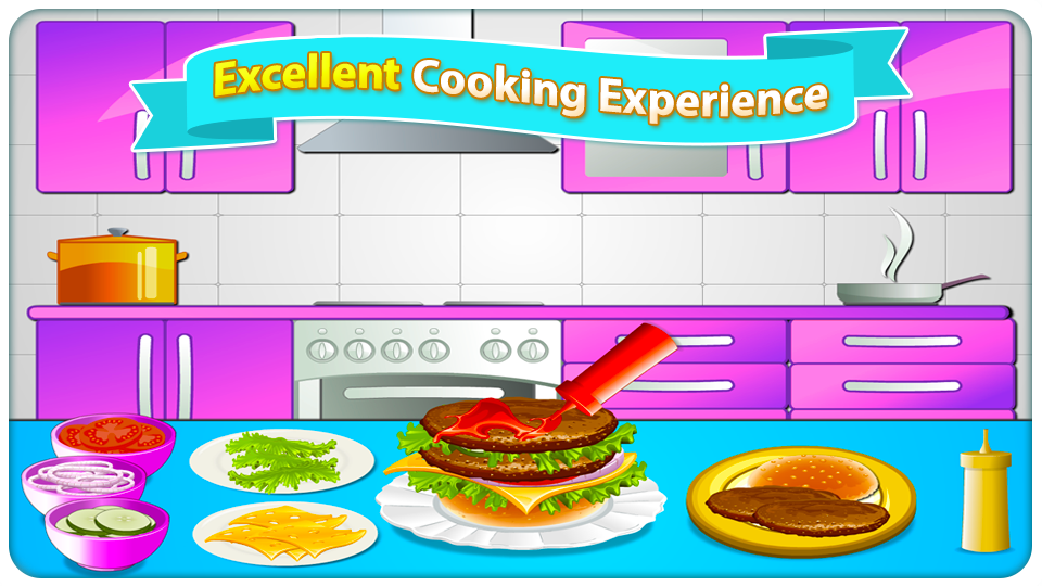 Hot Cooking Games Fast Food