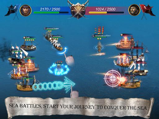 Age of Voyage - pirate's war screenshot 5